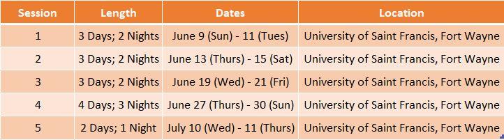 Girls Team Dates pic 2019