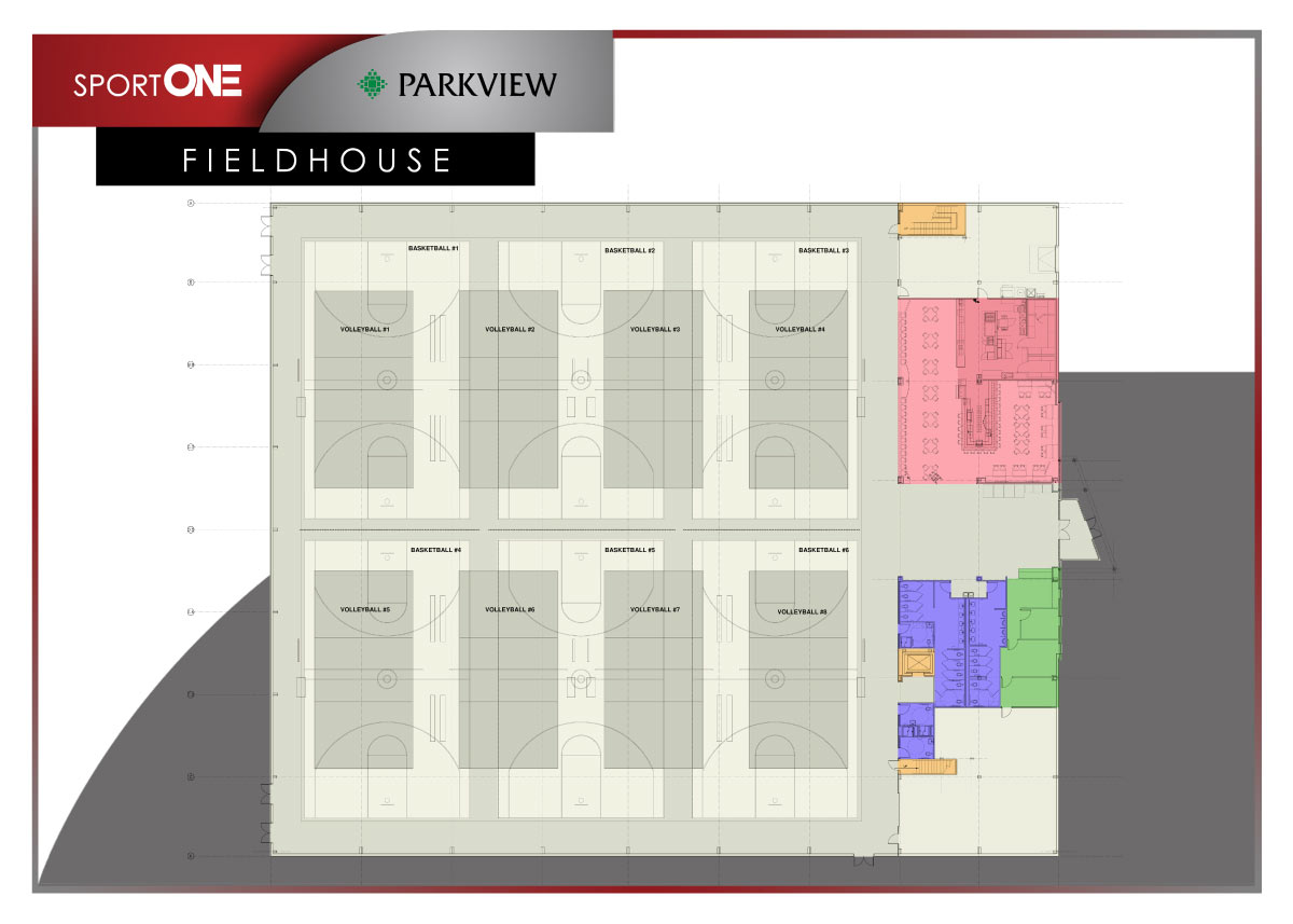 SPORTINE Floorplan